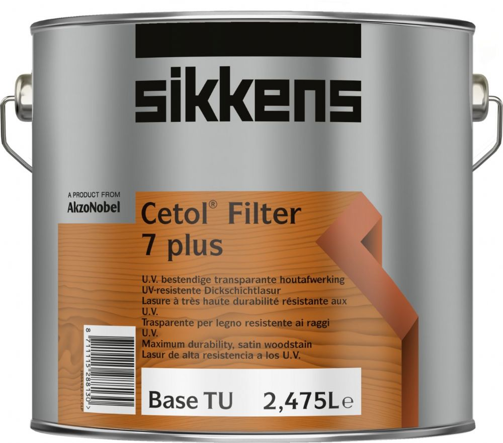 Sikkens Cetol Filter 7 Plus Clearance E8.08.18T 5L